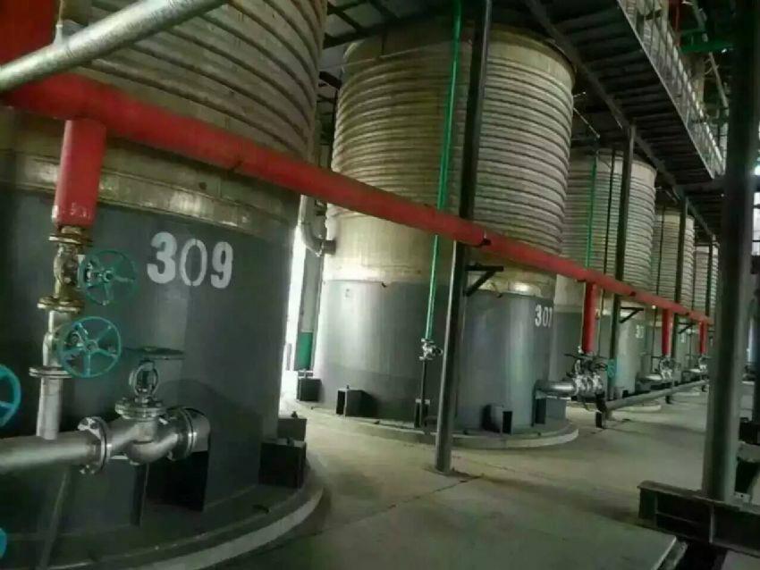 不锈钢70吨发酵罐