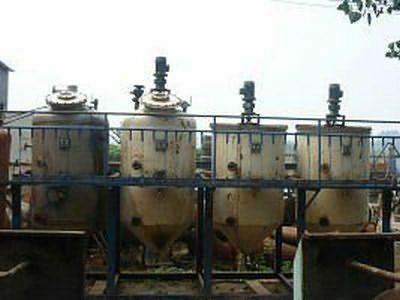 二手小型動物色拉油精煉設備