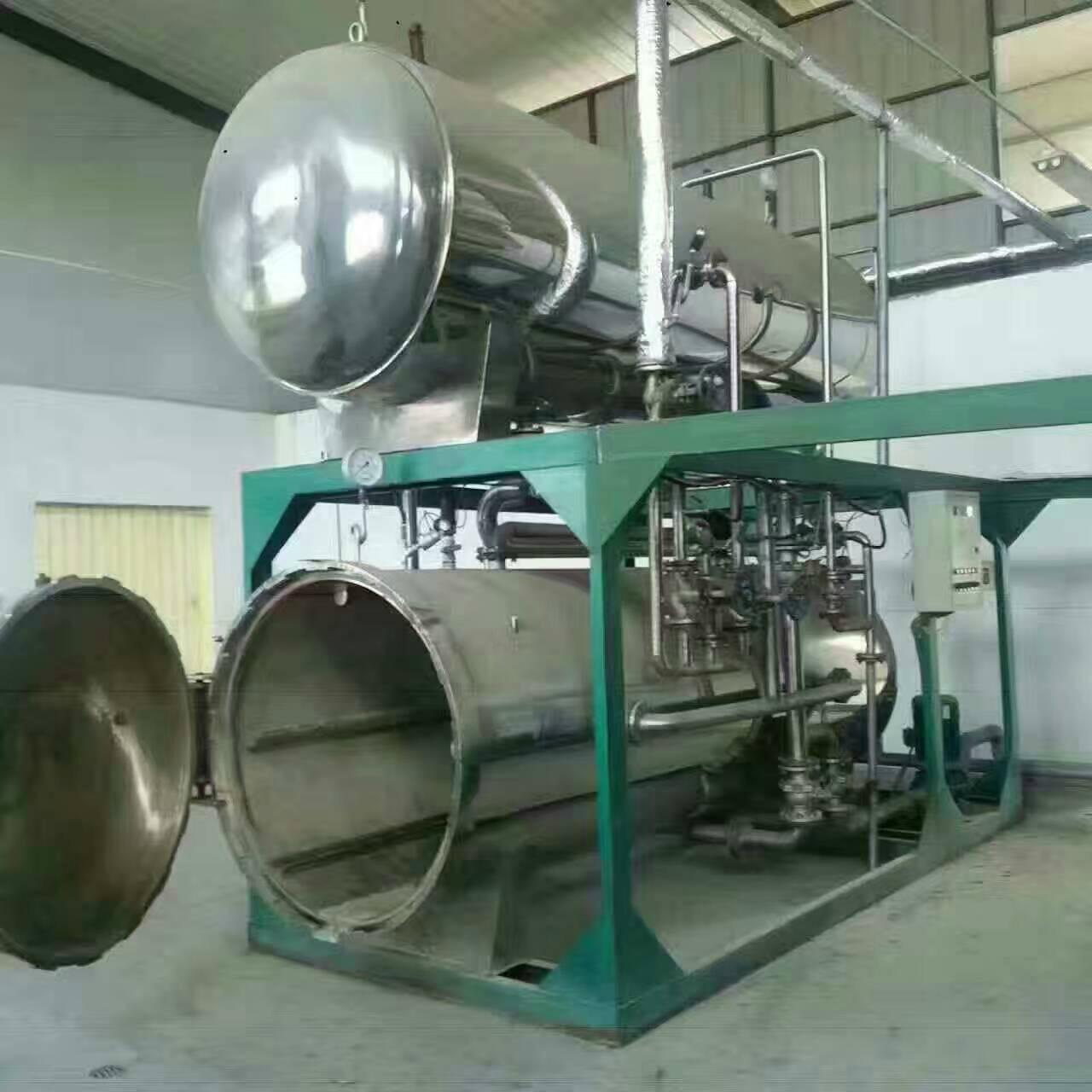 河南安陽回收高溫殺菌鍋生產線